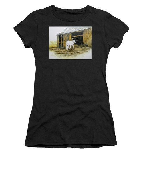 Horse And Barn Women's T-Shirt (Athletic Fit)