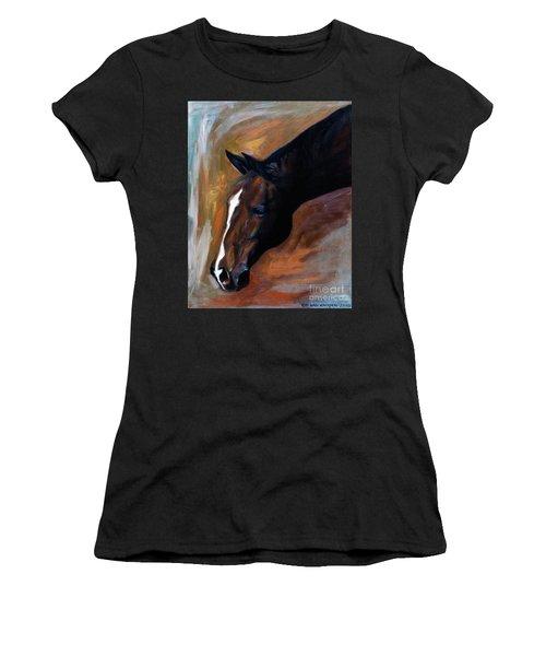horse - Apple copper Women's T-Shirt