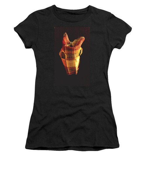 Native American Horse Mask Women's T-Shirt (Junior Cut) by Stacy C Bottoms