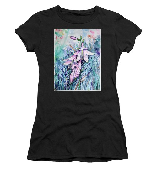 Hosta's In Bloom Women's T-Shirt