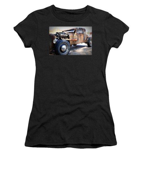 Hot Rod Women's T-Shirt (Athletic Fit)
