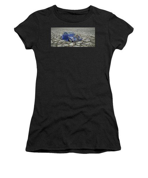 Hot Rod Mirage Women's T-Shirt (Athletic Fit)