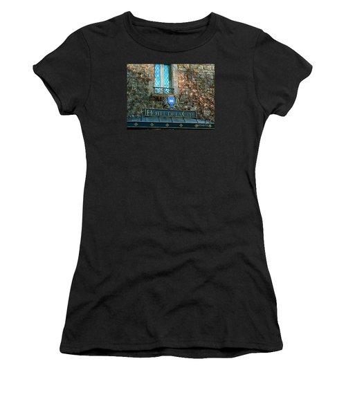 Hotel De La Cite Women's T-Shirt (Junior Cut) by France  Art