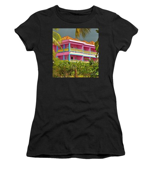 Hotel Jamaica Women's T-Shirt (Athletic Fit)