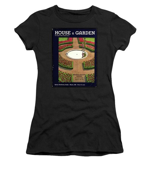 House And Garden Spring Gardening Guide Cover Women's T-Shirt