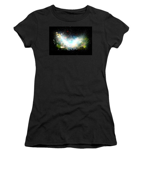 Hubble Birth Of A Galaxy Women's T-Shirt (Athletic Fit)