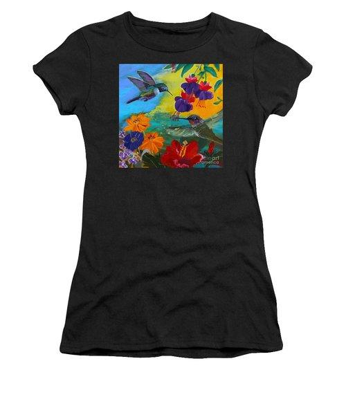 Hummingbirds Prayer Warriors Women's T-Shirt