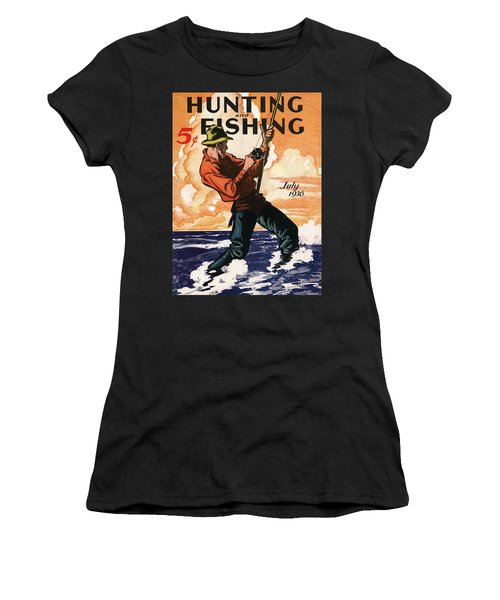 Hunting And Fishing Women's T-Shirt (Athletic Fit)