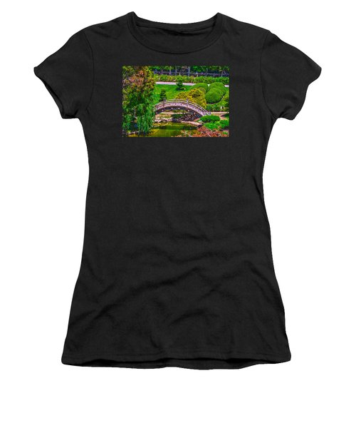 Huntington Library Ca Women's T-Shirt (Junior Cut) by Richard J Cassato