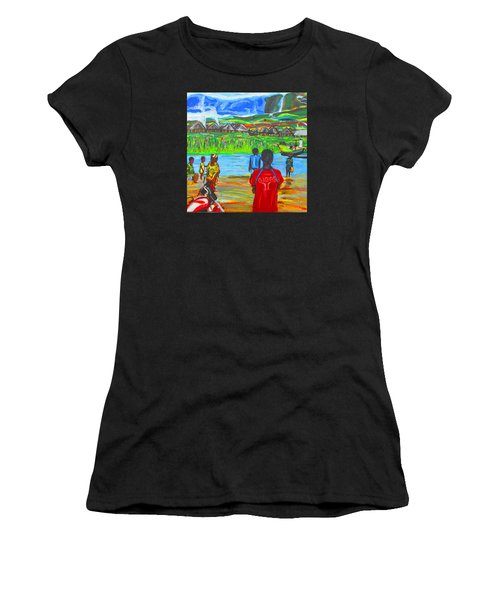 Hurry Up There - Ryan Giggs Tribute Women's T-Shirt (Athletic Fit)