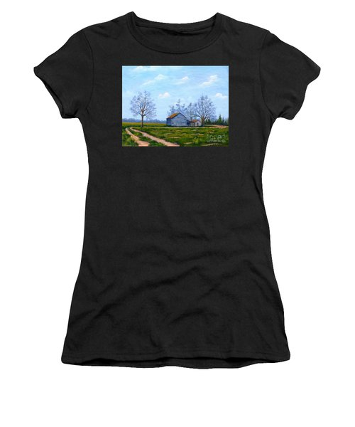 Hwy 302 Farm Women's T-Shirt (Athletic Fit)
