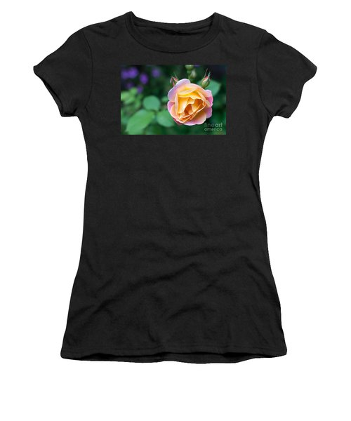 Women's T-Shirt (Junior Cut) featuring the photograph Hybrid Tea Rose by Matt Malloy