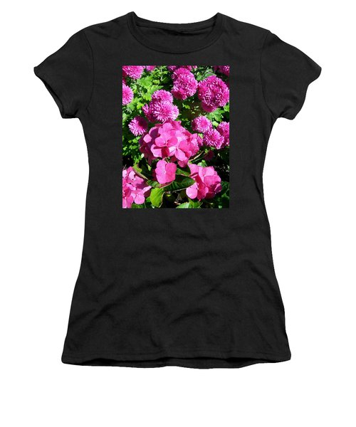 Hydrangea And Mums  Women's T-Shirt
