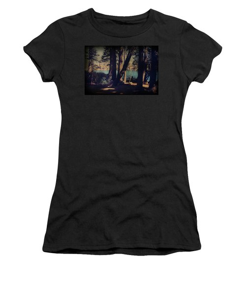 I Sit In The Shadows Women's T-Shirt