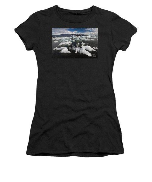 Icebergs, Iceland Women's T-Shirt