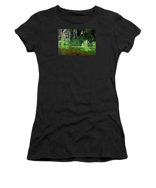 Ichetucknee Springs 1a Women's T-Shirt (Athletic Fit)