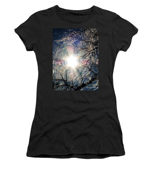 Icy Web Women's T-Shirt (Athletic Fit)