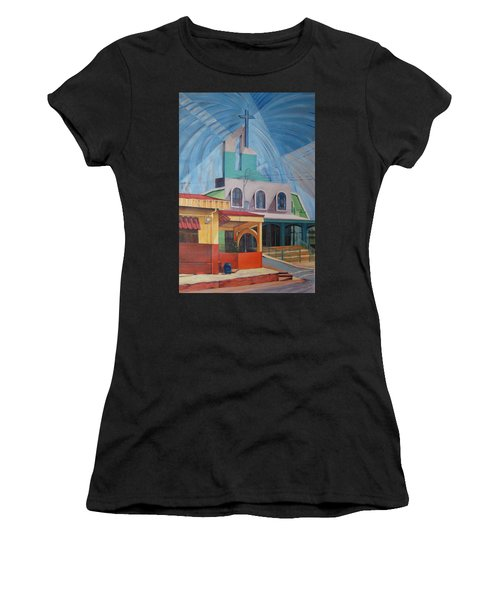 Iglesia San Rafael  Costa Rica Women's T-Shirt (Athletic Fit)