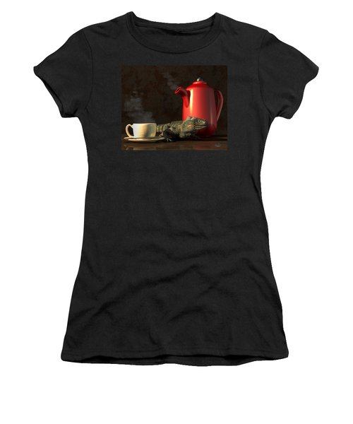 Iguana Coffee Women's T-Shirt