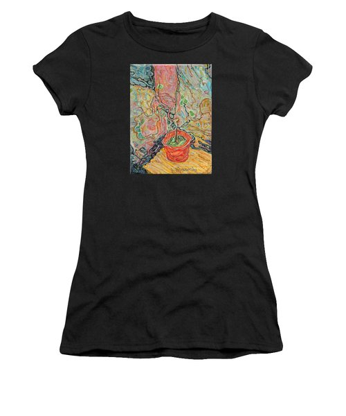 Ikebana Women's T-Shirt (Athletic Fit)