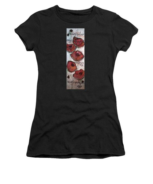 Im Ready For Your Love Poppies Women's T-Shirt