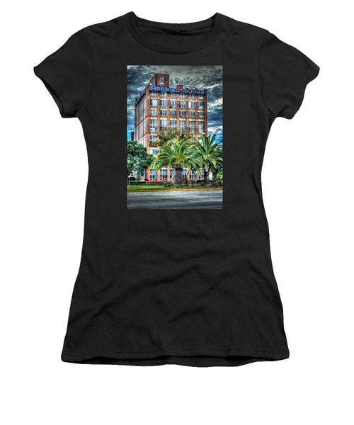 Imperial Sugar Factory Daytime Hdr Women's T-Shirt (Athletic Fit)