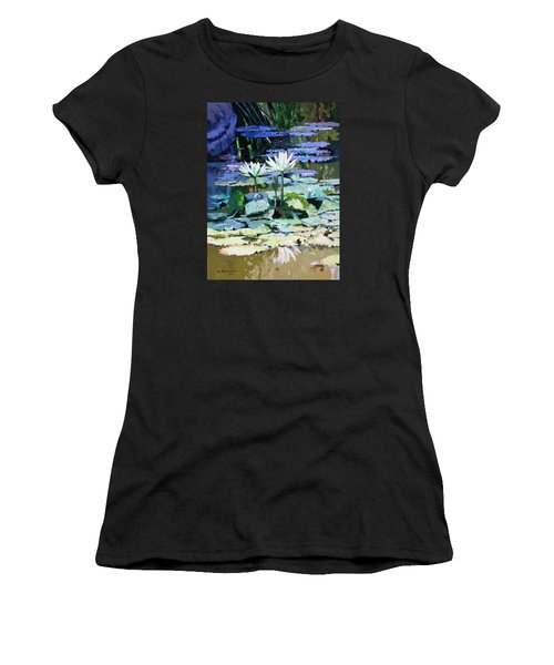 Impressions Of Sunlight Women's T-Shirt (Junior Cut) by John Lautermilch