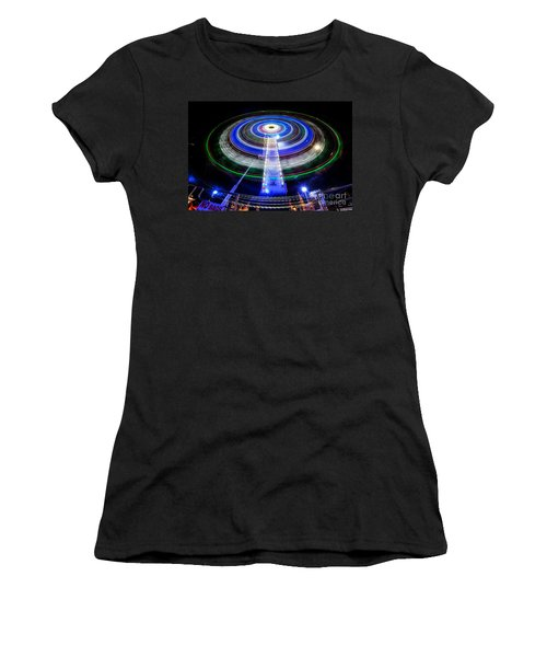 In A Spin Women's T-Shirt