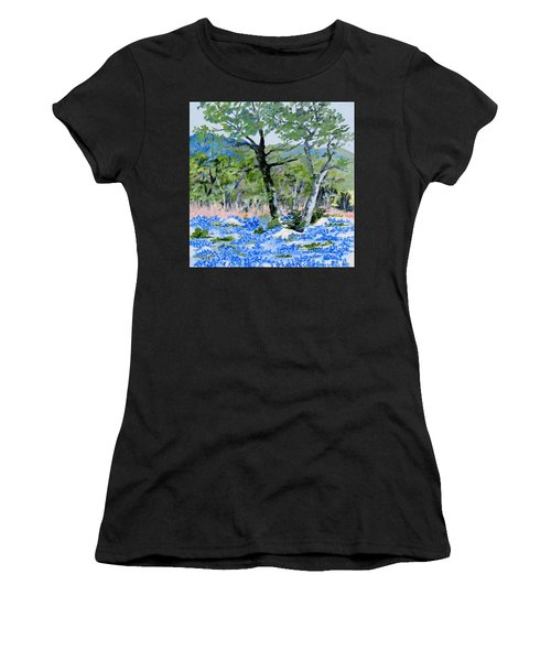 In April-texas Bluebonnets Women's T-Shirt