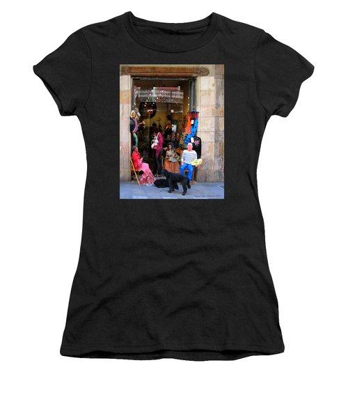 In Good Company Women's T-Shirt (Junior Cut) by Leena Pekkalainen