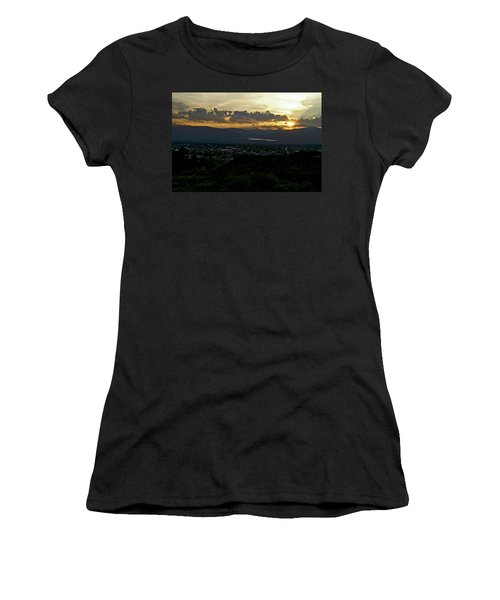Women's T-Shirt (Junior Cut) featuring the photograph In My Place by Jeremy Rhoades