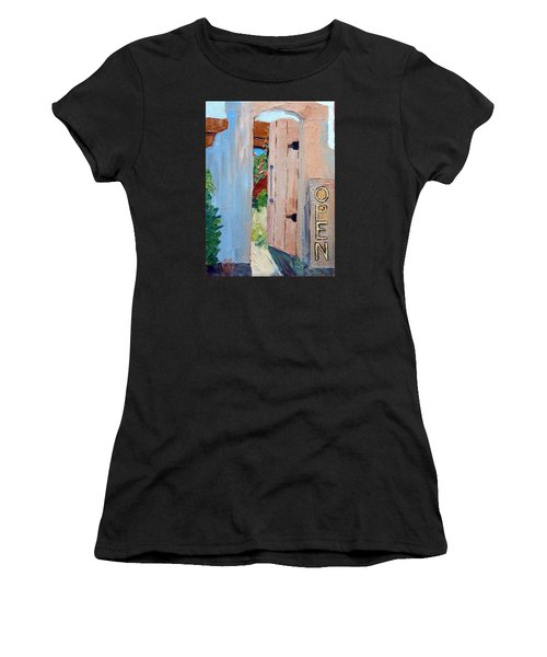 In Old Mesilla Nm Women's T-Shirt
