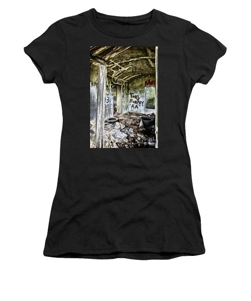 In Ruins Women's T-Shirt (Athletic Fit)