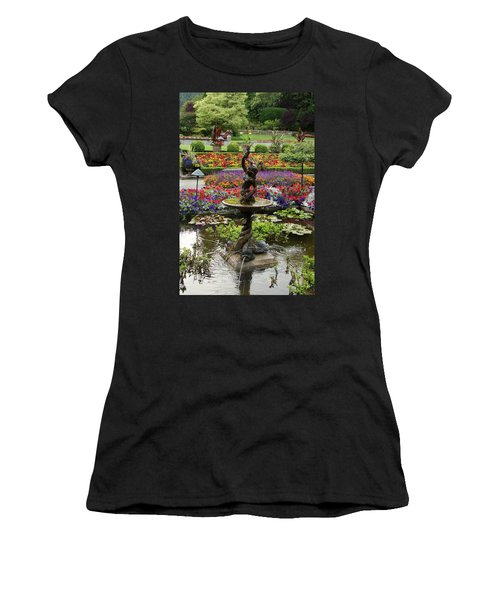 Women's T-Shirt (Junior Cut) featuring the photograph In Living Color by Natalie Ortiz