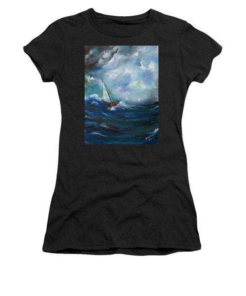In The Storm Women's T-Shirt (Athletic Fit)
