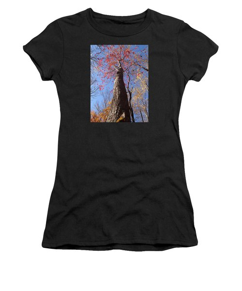 In The Woods 1 Women's T-Shirt (Athletic Fit)