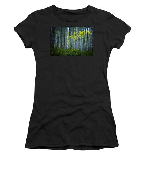 In The Woods Women's T-Shirt (Junior Cut) by Belinda Greb