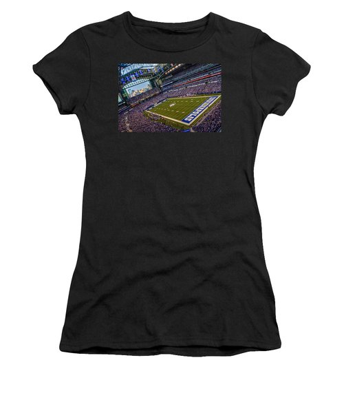 Indianapolis And The Colts Women's T-Shirt (Athletic Fit)