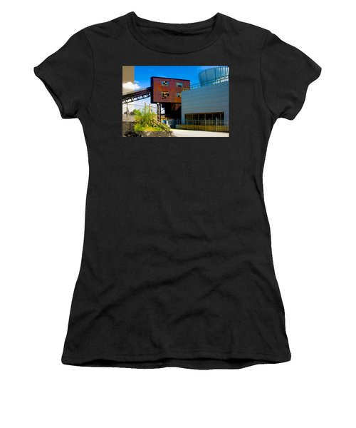 Industrial Power Plant Architectural Landscape Women's T-Shirt