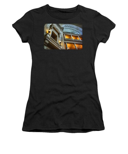 Inside The Natural History Museum  Women's T-Shirt (Athletic Fit)