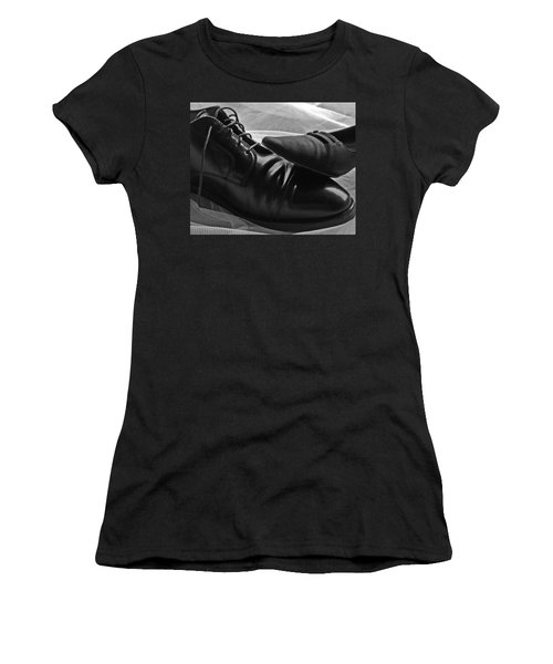 Women's T-Shirt (Junior Cut) featuring the photograph Instep by Lisa Phillips