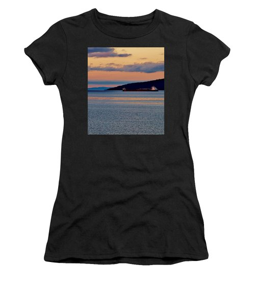 Into The Gitchigumi Night Women's T-Shirt (Athletic Fit)