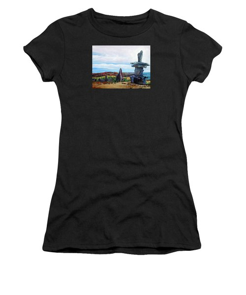 Inukshuk Women's T-Shirt (Athletic Fit)