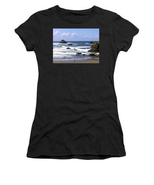 Invigorating Sea Air Women's T-Shirt (Athletic Fit)