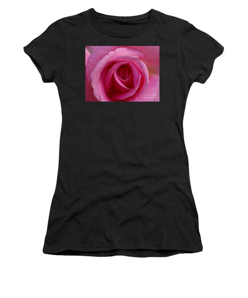 Inviting Pink Women's T-Shirt (Athletic Fit)