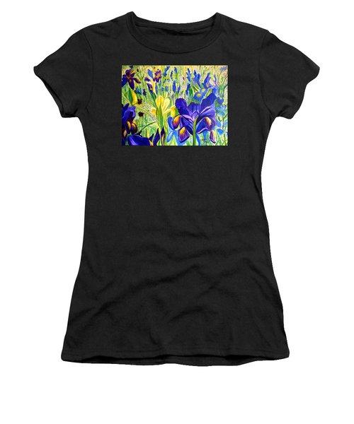 Iris Spring Women's T-Shirt (Athletic Fit)