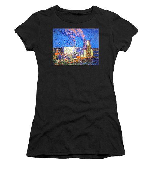 Irving Pulp Mill II Women's T-Shirt (Athletic Fit)