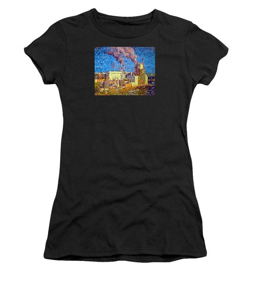 Irving Pulp Mill Women's T-Shirt (Athletic Fit)