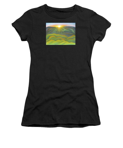 Isla Gorge Sunset Women's T-Shirt (Athletic Fit)