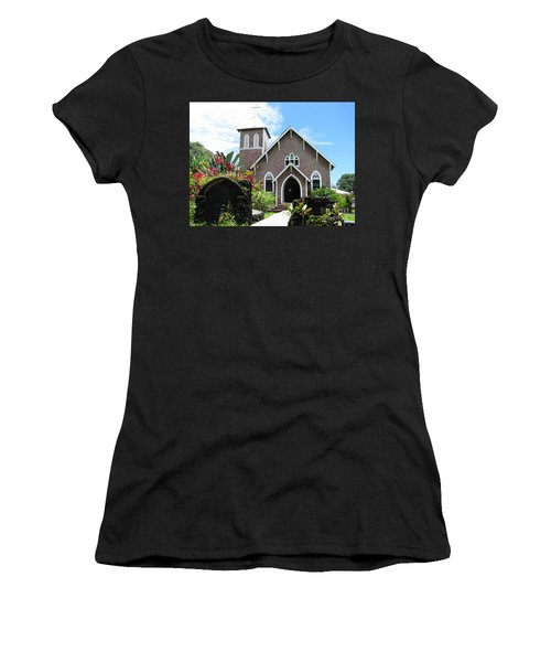 Island Church Women's T-Shirt (Athletic Fit)